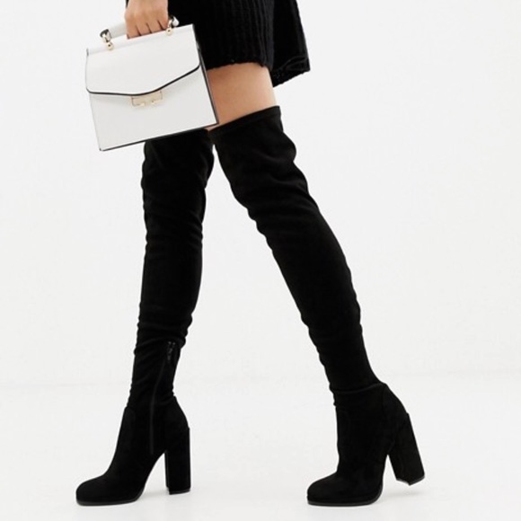 bd54d6f6f19 ASOS Shoes - ✨ ASOS Kassidy Heeled Over the Knee Boots ✨